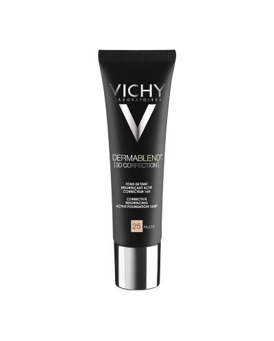 VICHY Dermablend 3D Correction SPF25 Make-up για Λιπαρό Δέρμα & Ακμή 25 Nude, 30ml