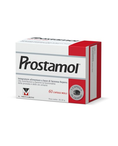 MENARINI - Prostamol Συμπλήρωμα Διατροφής για τον Προστάτη - 60 κάψουλες