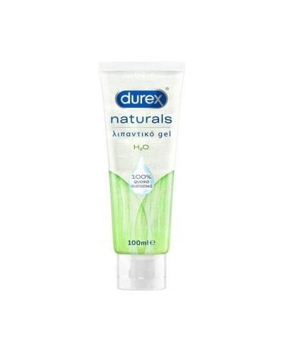 DUREX Naturals Ενυδατικό Λιπαντικό Gel H2O, 100ml
