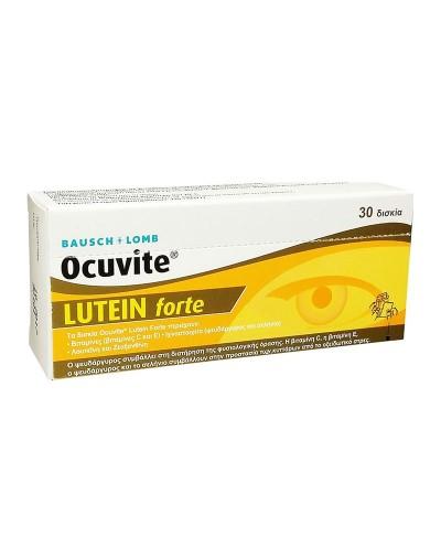 BAUSCH+LOMB Ocuvite Lutein Forte Συμπλήρωμα Διατροφής για την Υγεία των Ματιών, 30 δισκία