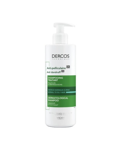VICHY Dercos Anti-dandruff Shampoo Σαμπουάν κατά της Πιτυρίδας, 390ml