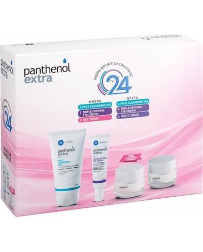 PANTHENOL EXTRA Promo Pack 24ωρη Φροντίδα Ομορφιάς Προσώπου με 4 Προϊόντα