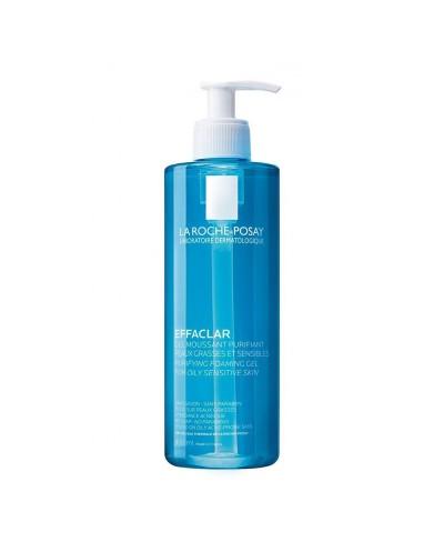 LA ROCHE POSAY Effaclar Gel Τζελ Καθαρισμού Προσώπου για Λιπαρό Δέρμα με Τάση Ακμής, 400ml
