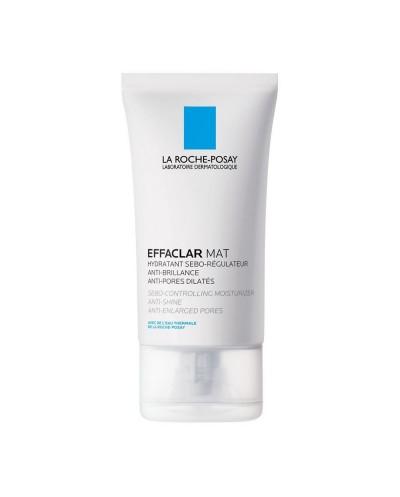 LA ROCHE POSAY Effaclar Mat Σμηγματορυθμιστική Κρέμα Προσώπου για Λιπαρό Δέρμα με Τάση Ακμής, 40ml