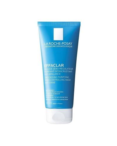 LA ROCHE-POSAY Effaclar Mask Μάσκα Καθαρισμού Προσώπου με Άργιλο για Λιπαρό Δέρμα, 100ml