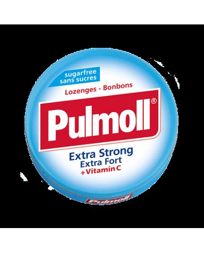 PARAPHARM Pulmoll Extra Strong Παστίλιες Λαιμού με Μέντα & Βιταμίνη C, 45g