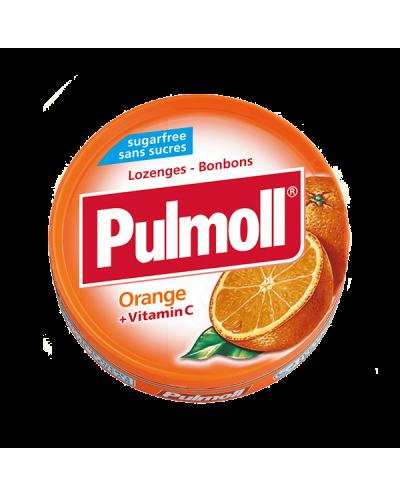 PARAPHARM Pulmoll Orange Παστίλιες Λαιμού με Πορτοκάλι & Βιταμίνη C, 45g