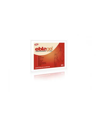 EUROMED EblaGel Heat Gel Αυτοκόλλητα Ζεστά Έμπλαστρα, 2 τεμάχια