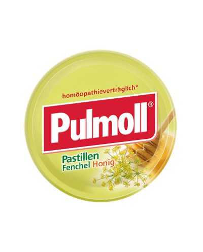 PARAPHARM Pulmoll Παστίλιες Λαιμού με Μέλι & Μάραθο, Ιδανικό για ομοιοπαθητική, 75g