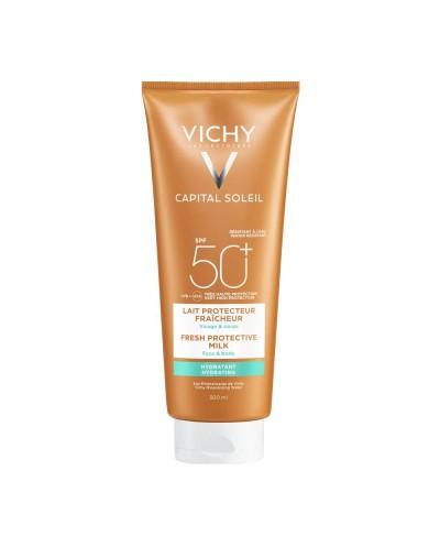 VICHY Capital Soleil Lait SPF50+ Face & Body Milk Αντηλιακό Γαλάκτωμα Προσώπου & Σώματος, 300ml