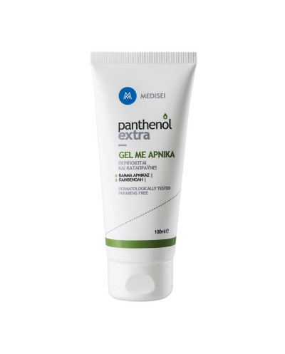 PANTHENOL EXTRA Gel με Άρνικα για Μυϊκούς Πόνους, Μελανιές, Πρησμένα Πόδια, 100ml