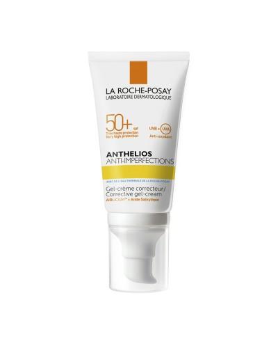 LA ROCHE POSAY Anthelios Anti-Imperfections SPF50+ Corrective Gel-Cream Αντηλιακή για Λιπαρό δέρμα, 50ml