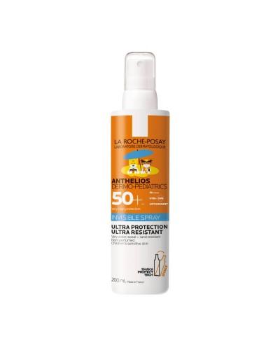 LA ROCHE POSAY Anthelios Dermo-Pediatrics Invisible Spray SPF50+ Παιδικό Αντηλιακό Σπρέι, 200ml