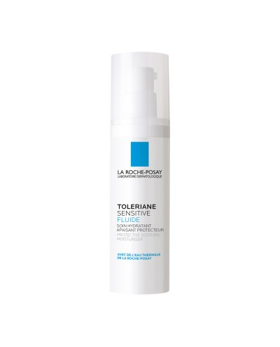 LA ROCHE POSAY - Toleriane Sensitive Fluide Κρέμα Ενυδάτωσης Προσώπου με Πρεβιοτικά για Ευαίσθητο δέρμα - 40ml