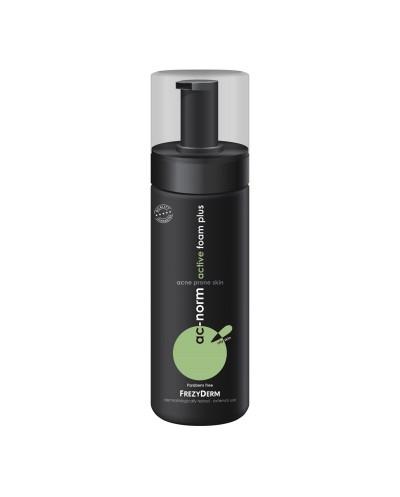 FREZYDERM AcNorm Active Foam Plus Αφρός Καθαρισμού για Λιπαρό Δέρμα με Τάση Ακμής, 150ml