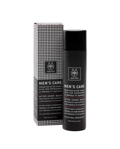 APIVITA Men's Care After Shave κατά των Ερεθισμών με Βάλσαμο & Πρόπολη, 100ml