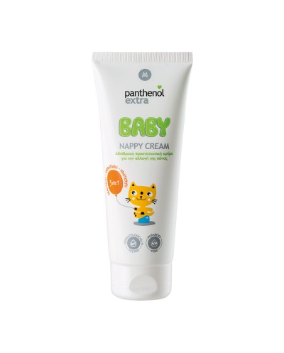 PANTHENOL EXTRA Baby Nappy Cream Προστατευτική Κρέμα για Αλλαγή Πάνας, 100ml