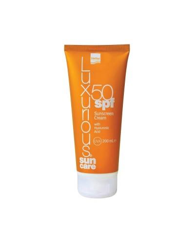 INTERMED Luxurious Sun Care Body Cream SPF50 Αντηλιακό Σώματος, 200ml