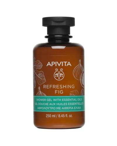 APIVITA Refreshing Fig Δροσερό Aφρόλουτρο με Αιθέρια Έλαια & Σύκο, 250ml