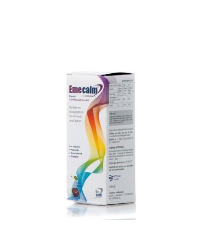 BECALM Emecalm Φυσικό Σιρόπι για Aνακούφιση από Nαυτία & Eμετό, 120ml
