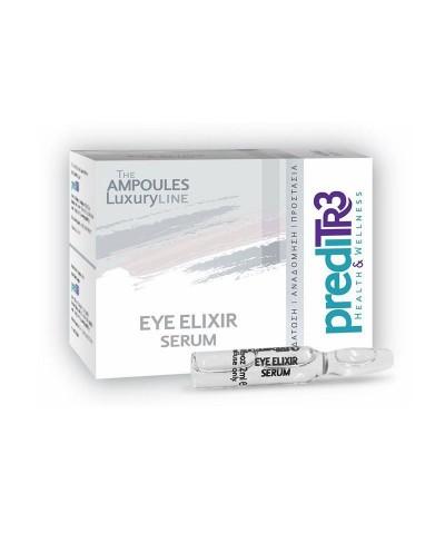 PREDITR3 Eye Elixir Serum Ορός Ματιών Εντατικής Ενυδάτωσης, 1 αμπούλα x 2ml