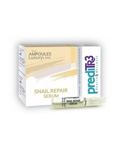 PREDITR3 Snail Repair Serum Ορός Αναγέννησης με εκχύλισμα σαλιγκαριού, 1 αμπούλα x 2ml