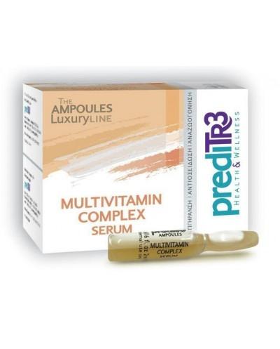 PREDITR3 Multivitamin Complex Serum Ορός Έντονης Αναζωογόνησης, 1 αμπούλα x 2ml