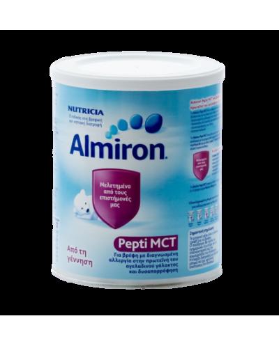 NUTRICIA Almiron Pepti MCT για βρέφη με Αλλεργία στην πρωτεΐνη του αγελαδινού γάλακτος/Δυσαπορρόφηση του λίπους, 450g
