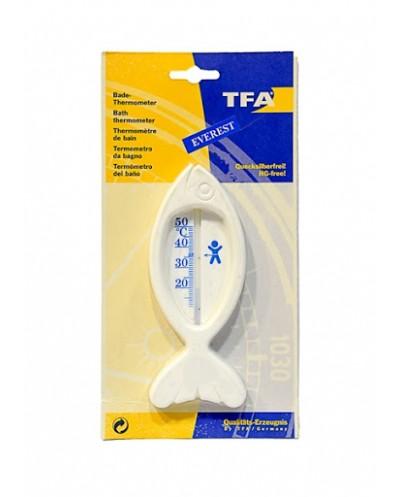 TFA Θερμόμετρο Μπάνιου Ψαράκι Χωρίς Υδράργυρο, 1 τεμάχιο