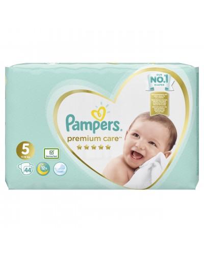 PAMPERS Premium Care Jumbo No. 5 (11-16 kg) Βρεφικές Πάνες, 44 τεμάχια