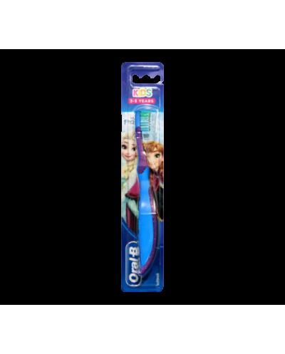 Oral-B Kids Παιδική Χειροκίνητη Οδοντόβουρτσα Frozen 3-5 ετών, 1 τεμάχιο