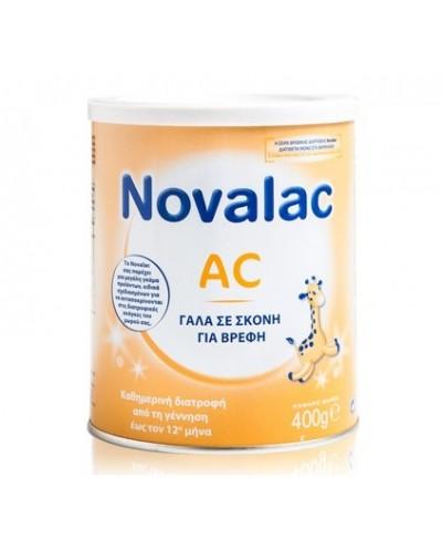 NOVALAC AC Βρεφικό Γάλα κατά των Κολικών 0-12 μηνών, 400g
