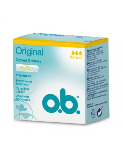 O.B. - ProComfort Normal Ταμπόν Μεσαίας Ροής, 8 τεμάχια