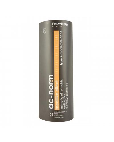 FREZYDERM AcNorm Medilike Effect Type 2 Cream Εξειδικευμένη Κρέμα για Μέτρια Ακμή, 50ml
