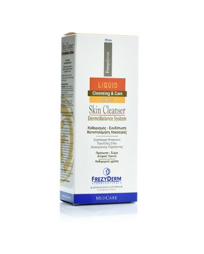 FREZYDERM Skin Cleanser Καθαριστικό Προσώπου, Χεριών & Σώματος, 125ml