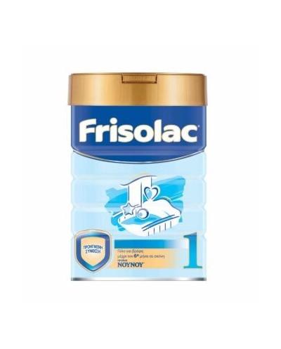 ΝΟΥΝΟΥ Frisolac 1 Βρεφικό Γάλα σε Σκόνη 0-6 μηνών, 400g