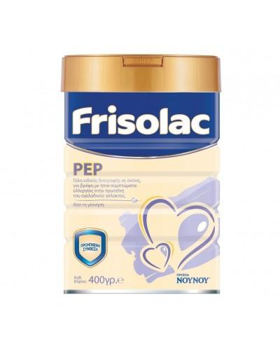 NOYNOY Frisolac PEP Γάλα για Βρέφη με Ήπια Αλλεργία στην Πρωτεΐνη Αγελαδινού Γάλακτος, 400g