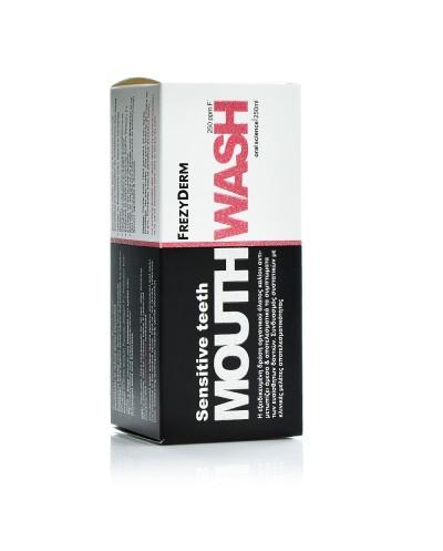 FREZYDERM Sensitive Teeth Mouthwash Στοματικό Διάλυμα για Ευαίσθητα Δόντια 6+ετών, 250ml