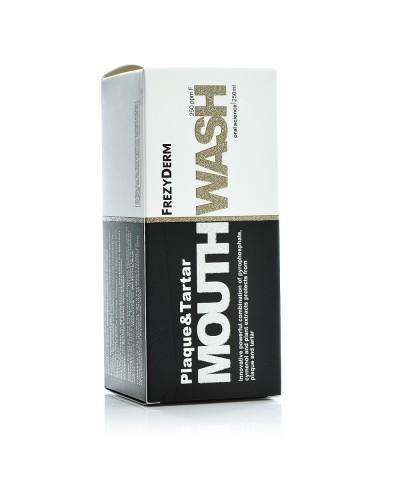 FREZYDERM Plaque & Tartar Mouthwash Στοματικό Διάλυμα για την Τερηδόνα 6+ετών, 250ml
