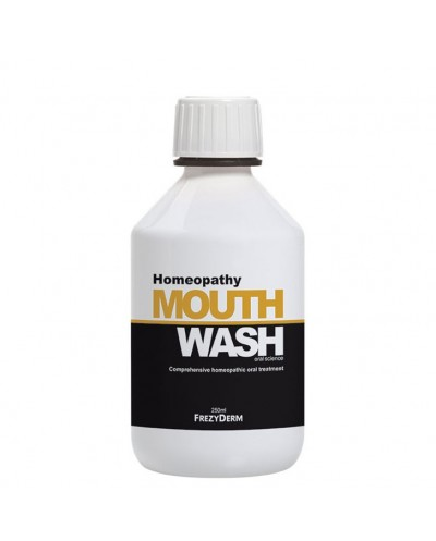 FREZYDERM Homeopathy Mouthwash Στοματικό Διάλυμα για Ομοιοπαθητική, 250ml