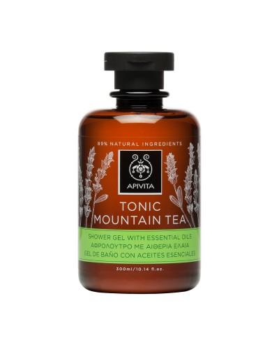 APIVITA Tonic Mountain Tea Αφρόλουτρο με Αιθέρια Έλαια & Τσάι του Βουνού, 250ml