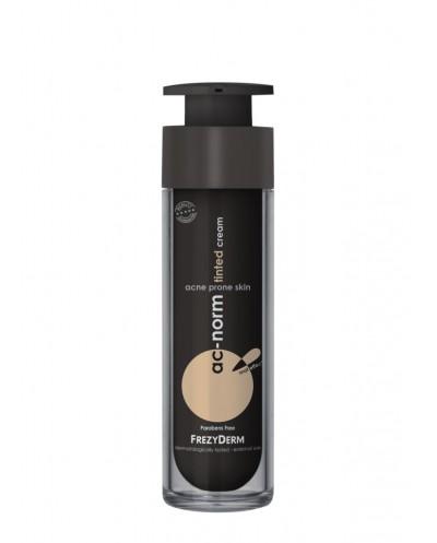 FREZYDERM AcNorm Tinted Cream Κρέμα Προσώπου με Χρώμα για Ατέλειες & Ακμή, 50ml