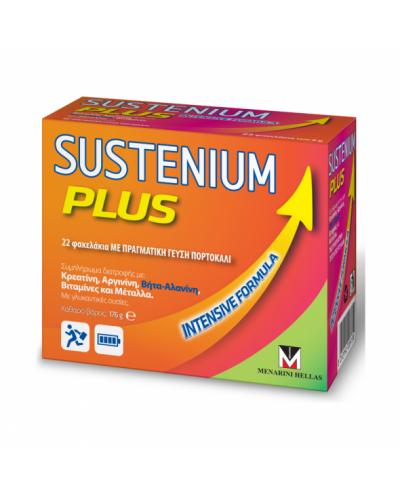 MENARINI Sustenium Plus Συμπλήρωμα Διατροφής για Τόνωση & Ενέργεια - 22 Φακελάκια