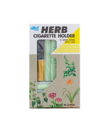 VICAN Herb Cigarette Holder Ανταλλακτικά Φίλτρα με Θήκη, 12 τεμάχια