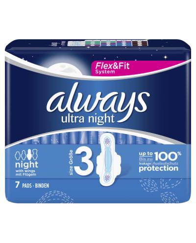 ALWAYS Σερβιέτες Ultra Night Νο.3, 7 τεμάχια