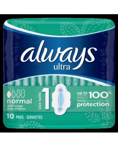 ALWAYS Σερβιέτες Ultra Normal Νο.1, 7 τεμάχια