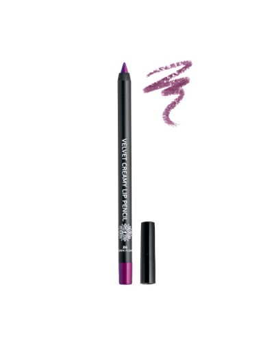 GARDEN OF PANTHENOLS Velvet Creamy Lip Pencil 26 Dark Plum Μολύβι Χειλιών, 1 τεμάχιο