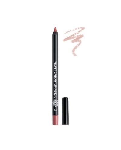 GARDEN OF PANTHENOLS Velvet Creamy Lip Pencil 21 Nude Μολύβι Χειλιών, 1 τεμάχιο