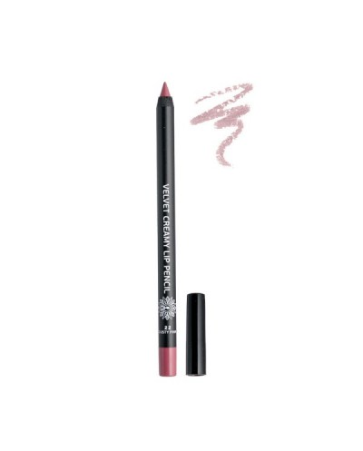 GARDEN OF PANTHENOLS Velvet Creamy Lip Pencil 22 Dusty Pink Μολύβι Χειλιών, 1 τεμάχιο
