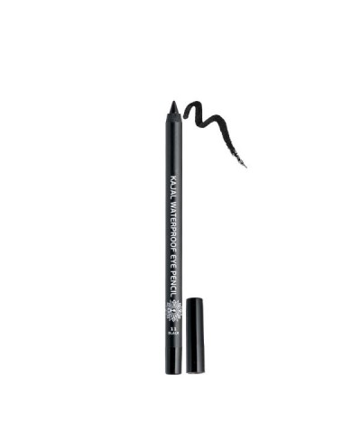 GARDEN OF PANTHENOLS Kajal Waterproof Eye Pencil 11 Black Μαύρο Μολύβι Ματιών, 1.4g